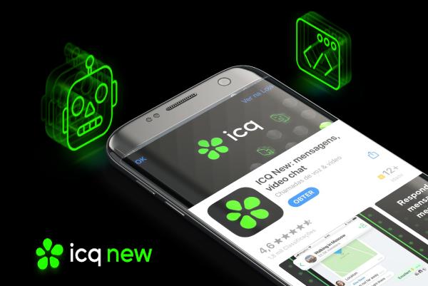 """ICQ """"NEW"""": Mensageiro que foi sucesso nos anos 90 volta com versão semelhante à Whats App e Telegram"""