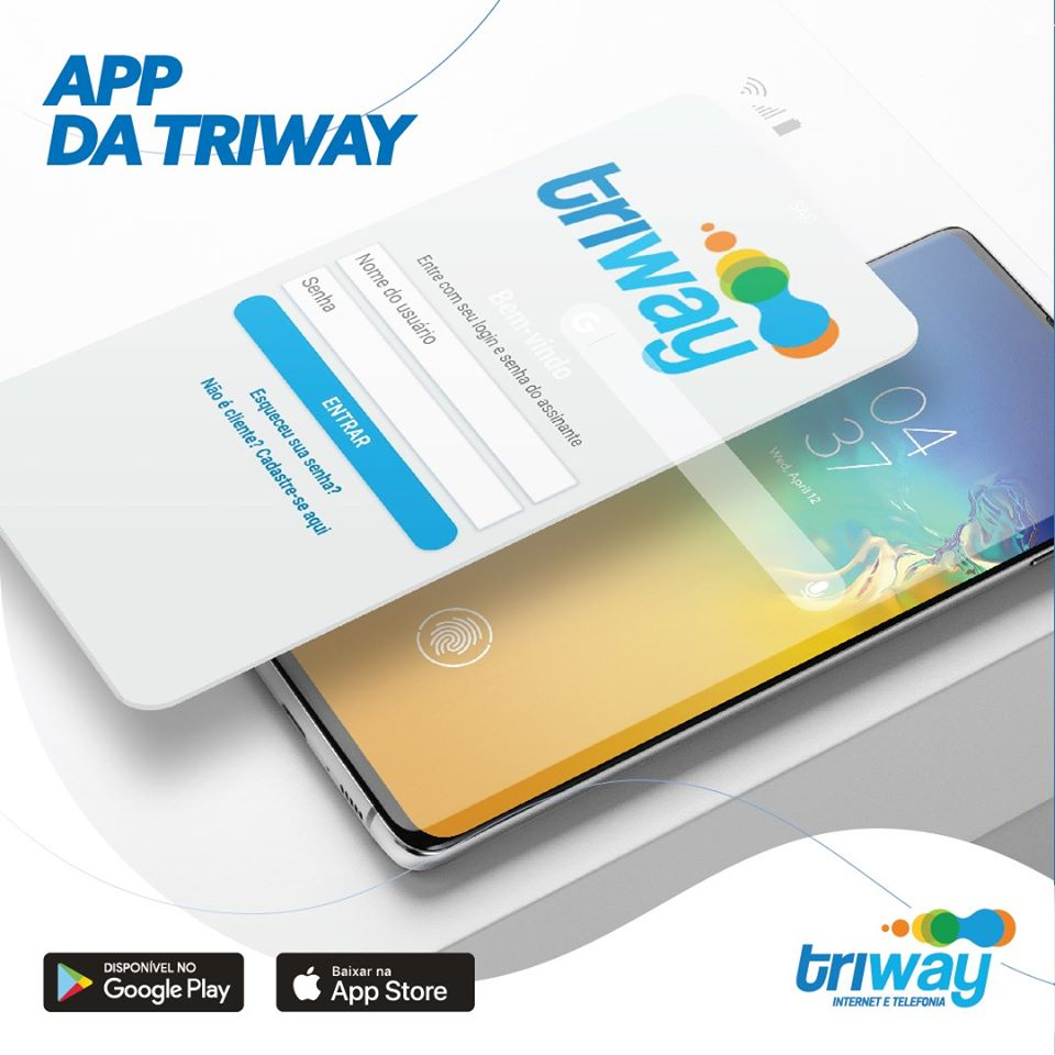Aplicativo Triway está disponível para os sistemas Android e iOS