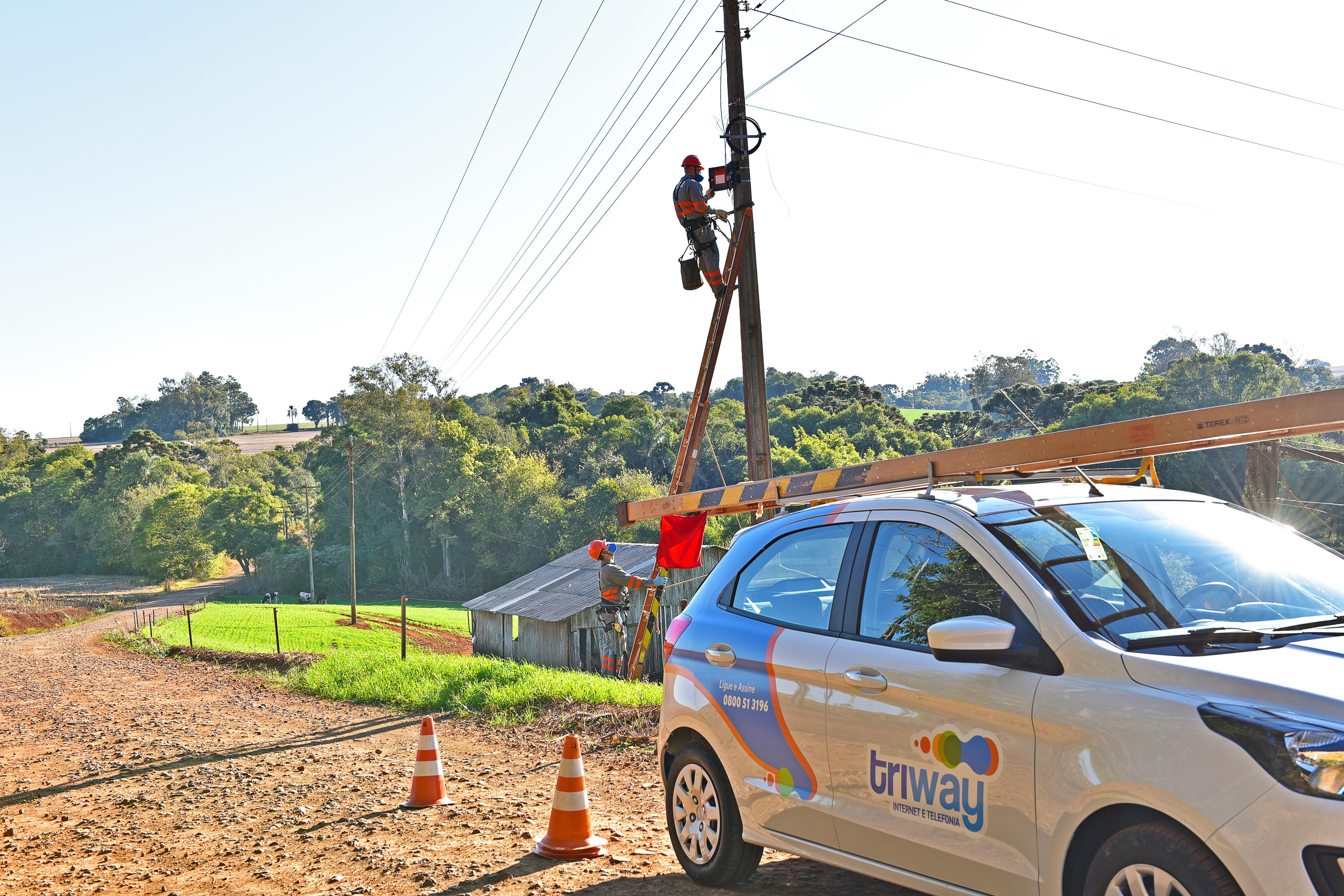 Triway Coprel Telecom amplia oferta de internet e telefonia nas áreas urbanas e rurais