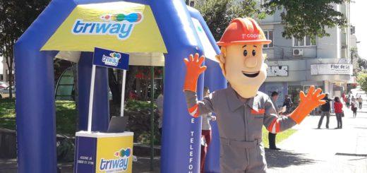 Triway amplia internet fibra ótica em Marau